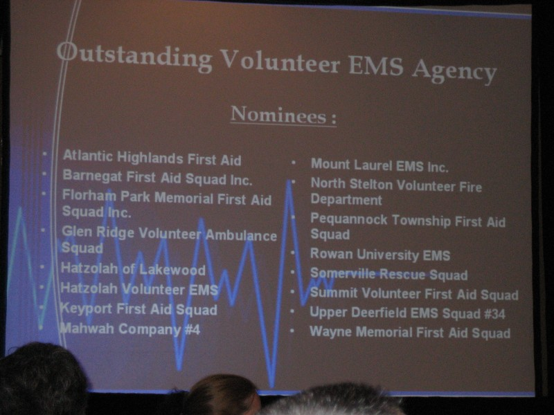2008 NJ EMS Awards